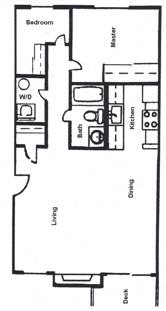 Small 2 Bedroom Floor Plan